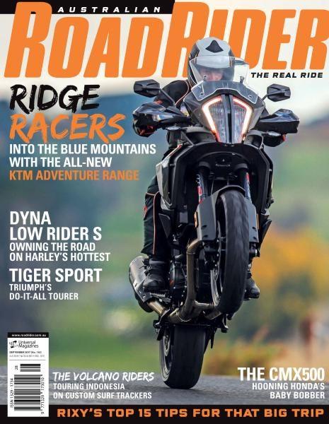 Australian Road Rider — Issue 140 — September 2017