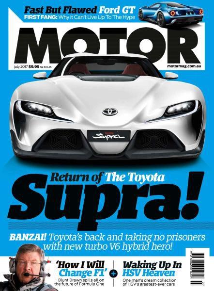 Motor Magazine Australia — July 2017