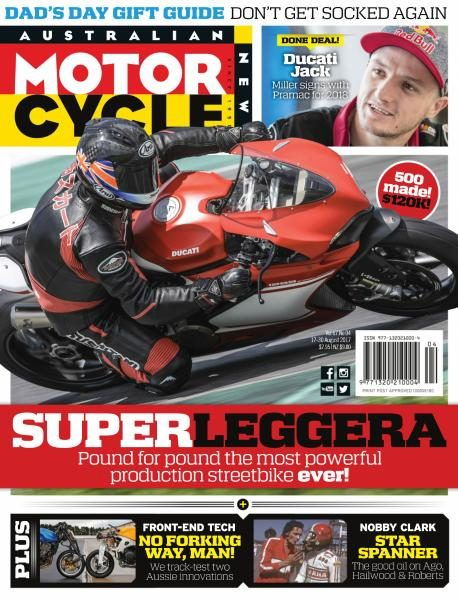 Australian Motorcycle News — August 17, 2017