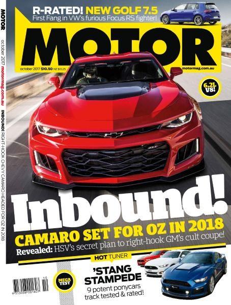 Motor Australia — October 2017