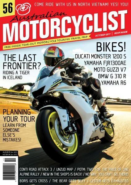Australian Motorcyclist — October 2017
