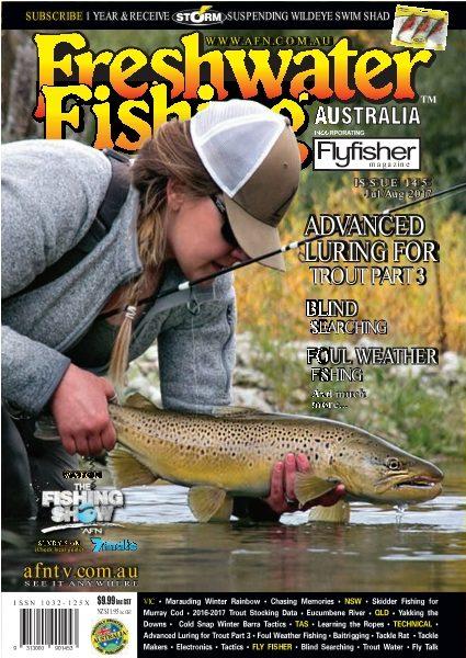Freshwater Fishing Australia — July — August 2017