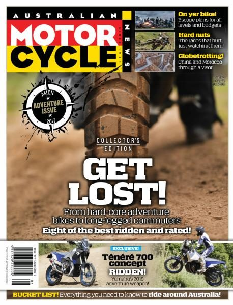 Australian Motorcycle News — July 6-19, 2017