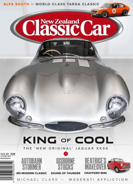 New Zealand Classic Car — Issue 321 — September 2017
