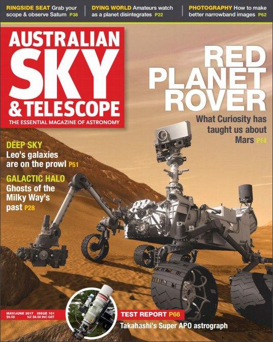 Australian Sky & Telescope – May-June 2017