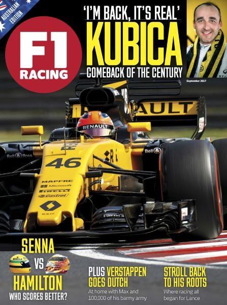 F1 Racing Australia — September 2017