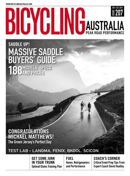 Bicycling Australia — September-October 2017