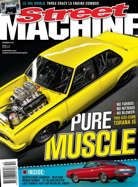 Street Machine Australia — October 2016