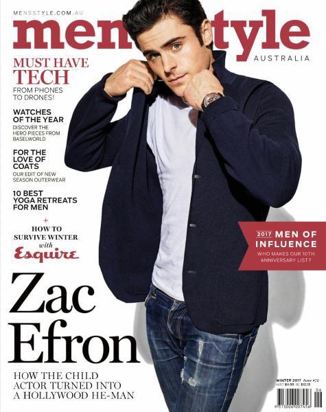 Men's Style Australia – Issue 72, Winter 2017