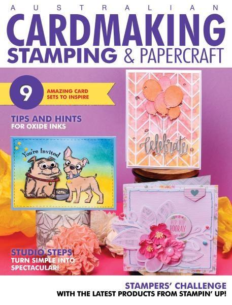 Australian Cardmaking, Stamping & Papercraft — August 2017