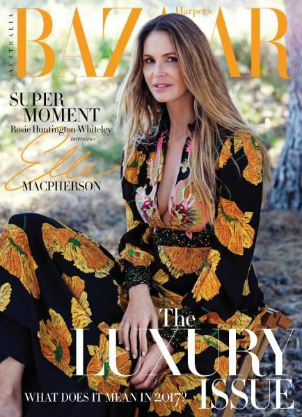 Harper's Bazaar Australia – June – July 2017