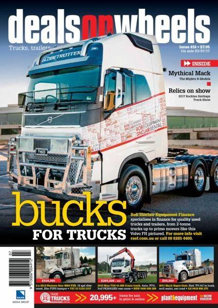 Deals On Wheels Australia — Issue 416 2017