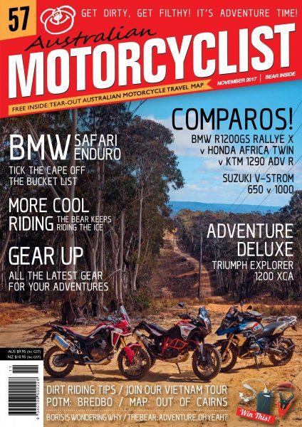 Australian Motorcyclist — November 2017