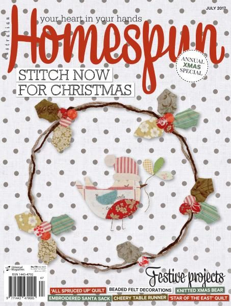 Australian Homespun — July 2017