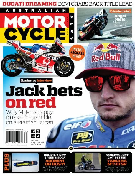 Australian Motorcycle News — August 31, 2017