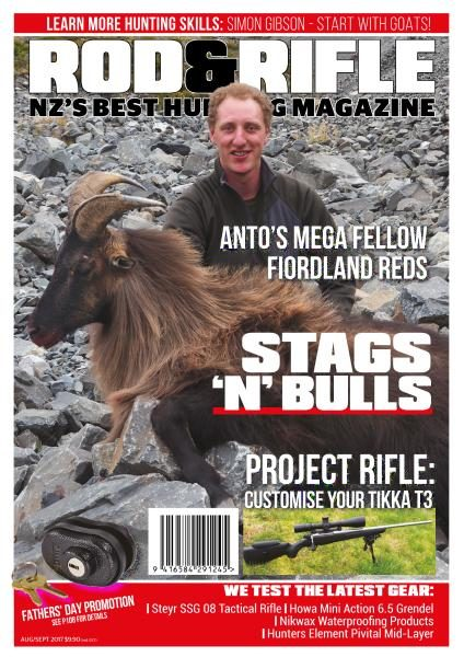 Rod & Rifle New Zealand — August-September 2017