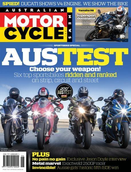 Australian Motorcycle News — September 14, 2017