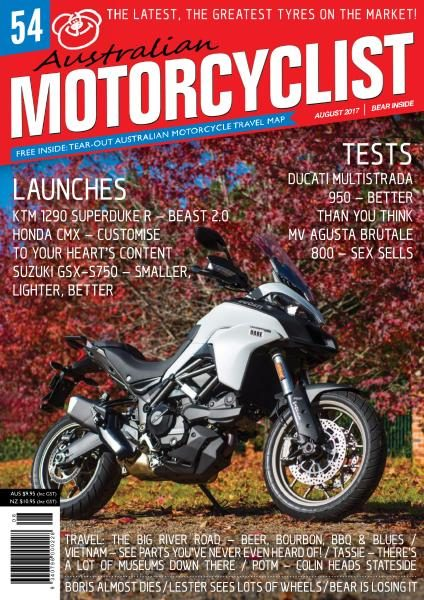 Australian Motorcyclist — August 2017