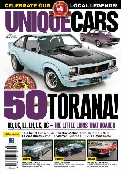 Unique Cars Australia — Issue 404 2017