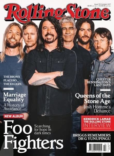 Rolling Stone Australia — October 2017