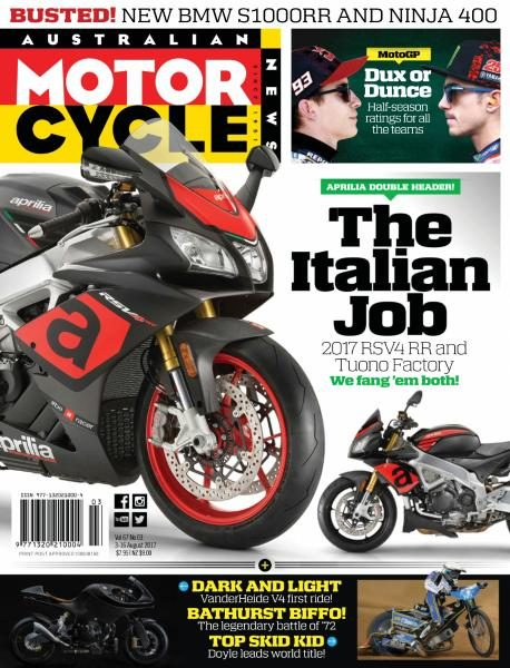 Australian Motorcycle News — August 3, 2017
