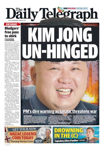 The Daily Telegraph (Sydney) – April 12, 2017