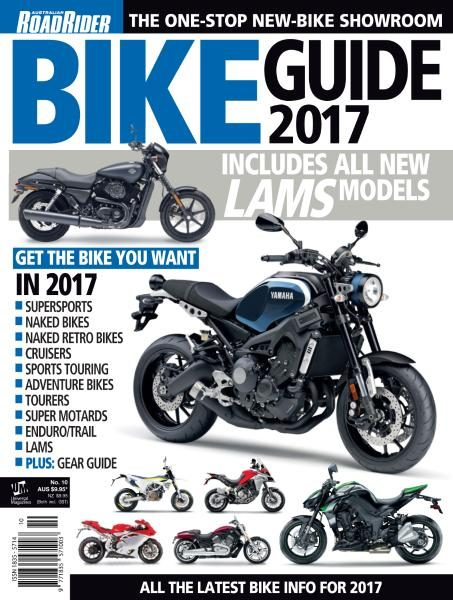 Australian Road Rider — Bike Guide 2017