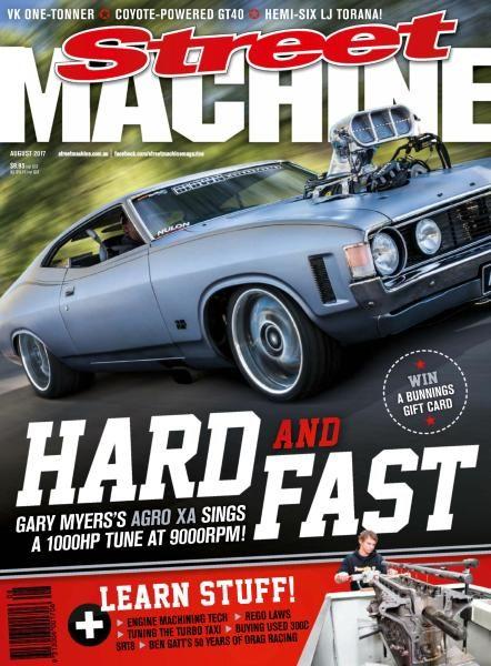Street Machine Australia — August 2017