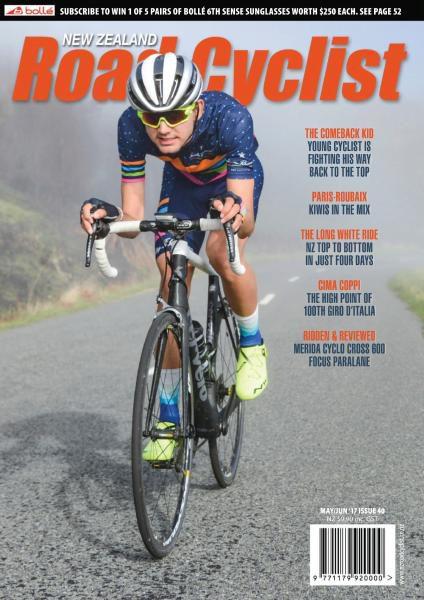 New Zealand Road Cyclist — May-June 2017