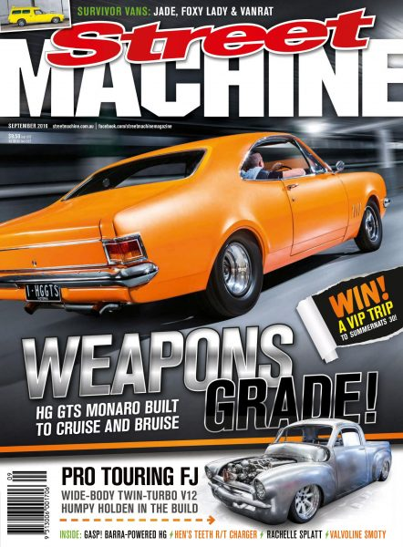 Street Machine Australia — September 2016