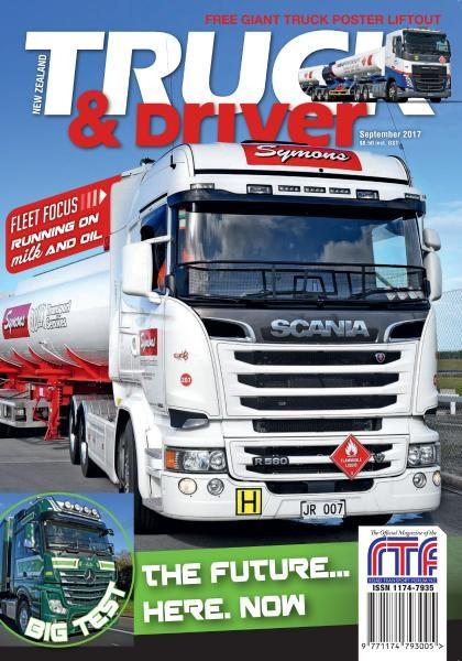 New Zealand Truck & Driver — September 2017