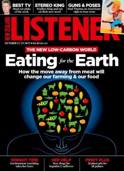 New Zealand Listener — October 21, 2017