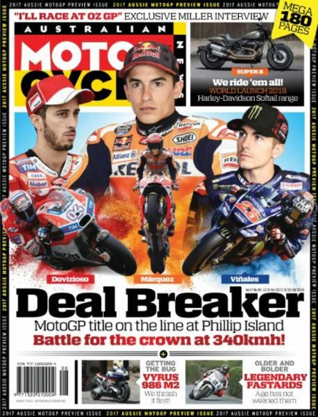Australian Motorcycle News — October 12, 2017