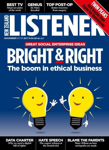 New Zealand Listener — November 08, 2017