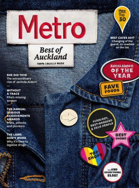 Metro New Zealand — November 01, 2017