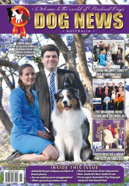 Dog News Australia — November 2017