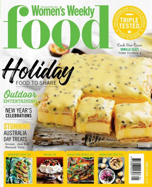 The Australian Women's Weekly Food — November 2017