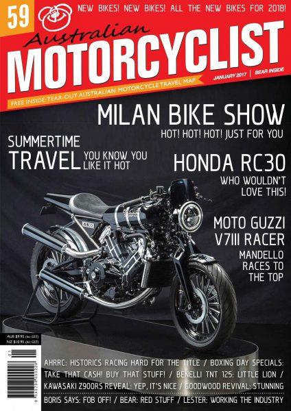Australian Motorcyclist — January 2018