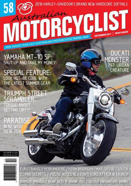 Australian Motorcyclist — December 2017