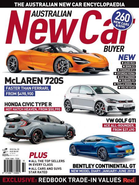 Australian New Car Buyer — January 2018
