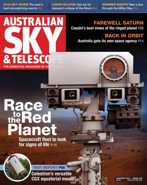 Australian Sky & Telescope — January 01, 2018