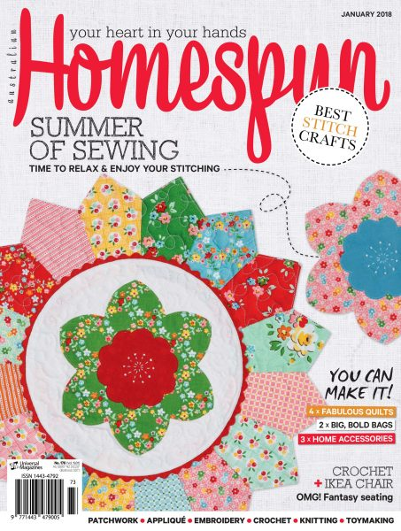 Australian Homespun — January 2018