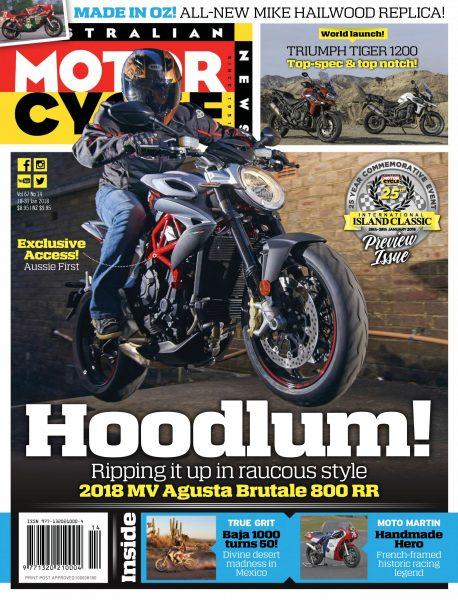 Australian Motorcycle News — January 16, 2018