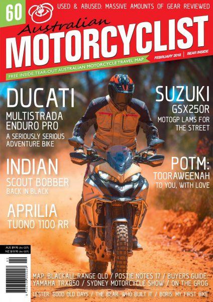 Australian Motorcyclist — February 2018