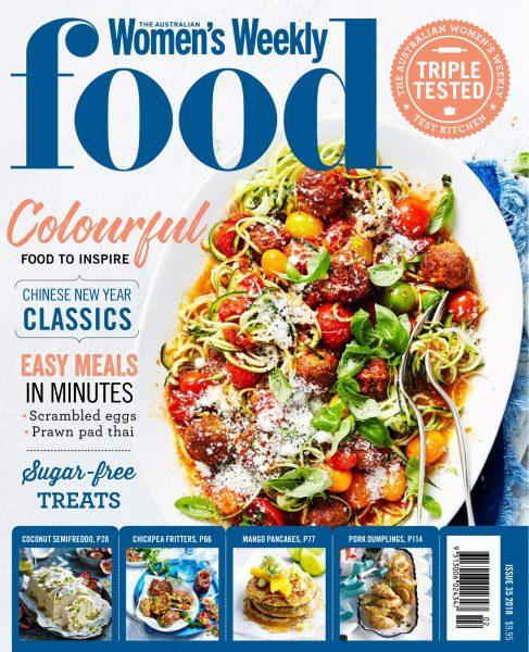 The Australian Women's Weekly Food — January 2018