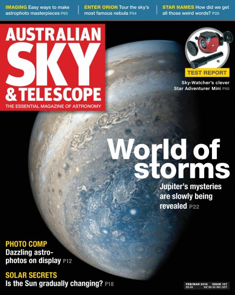 Australian Sky & Telescope — February 08, 2018