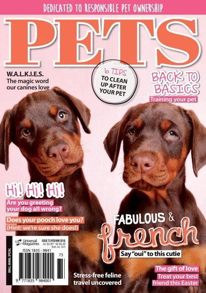 Pets Australia — January 25, 2018
