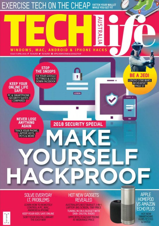 TechLife Australia – April 2018