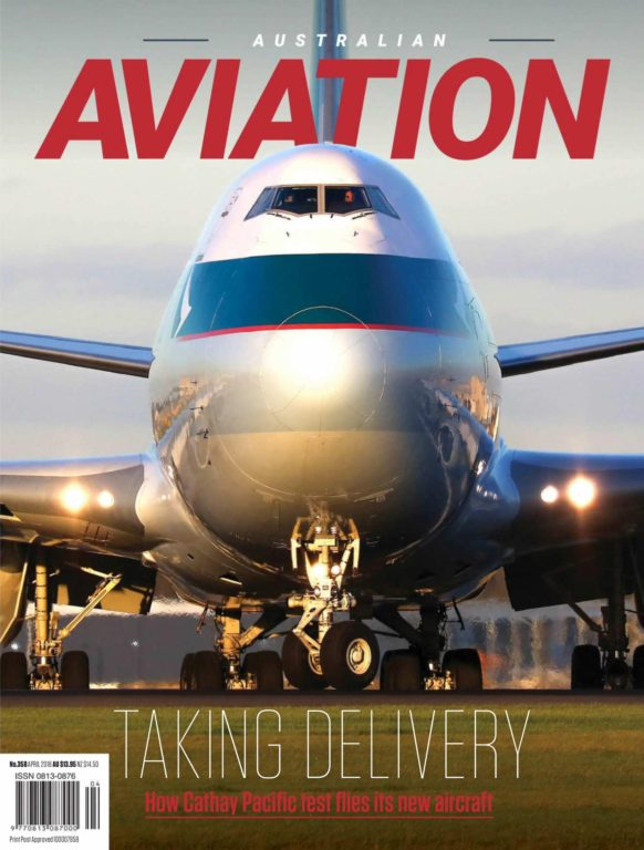 Australian Aviation – April 2018