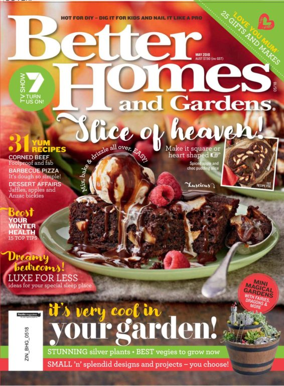 Better Homes And Gardens Australia – May 2018